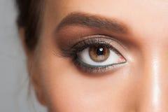 Oka Makeup Zdjęcie Royalty Free