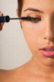 oka makeup tusz do rzęs obrazy stock
