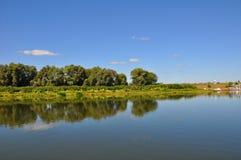 Oka River In Ryazan City Royalty Free Stock Photos