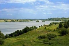 Oka river Stock Photo