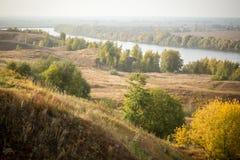 Oka river Royalty Free Stock Image