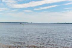 Oka strand i Quebec Royaltyfri Foto