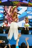 "Okada Marina (Vocals) from LoVendor Group. BANGKOK - AUGUST 30 : Okada Marina (Vocals) from LoVendor Group in Japan Festa in Bangkok 2014 ""Enter 10th Royalty Free Stock Images"