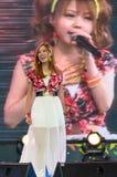 Okada Marina (Vocals) from LoVendor Group in Japan Festa in Bangkok 2014 Royalty Free Stock Images