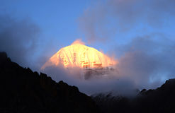 Okada rinpoche qi mountain Royalty Free Stock Photo
