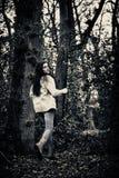 Okaleczający dziewczyna bieg zdjęcia stock