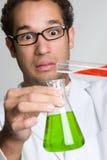 okaleczający naukowiec Zdjęcie Stock