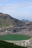 Okama (crater lake) at Zao, Japan Royalty Free Stock Photography