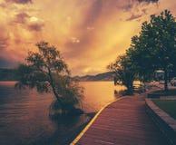 Okanagan Lake Royalty Free Stock Images