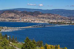 Free Okanagan Lake Bridge Kelowna BC Canada Stock Photography - 82327212