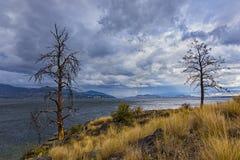 Okanagan Lake near Kelowna British Columbia Canada Royalty Free Stock Photo