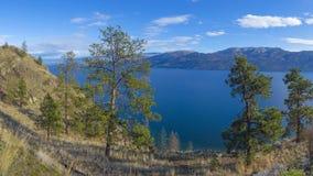 Okanagan Lake Panorama Stock Image