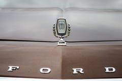 Okapturza ornament rozmiaru samochodowy ford LTD II, zakończenie Obraz Royalty Free