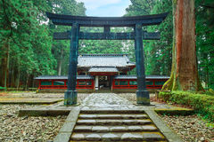 Okariden - santuário provisório no local do patrimônio mundial de Nikko em Nikko, Japão fotografia de stock