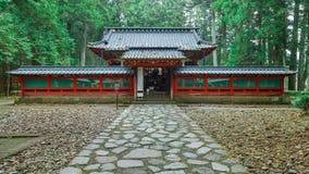 Okariden - santuário provisório no local do patrimônio mundial de Nikko em Nikko, Japão imagens de stock royalty free