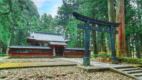 Okariden - Temporary Shrine at Nikko World Heritage Site in Nikko, Japan Stock Photos
