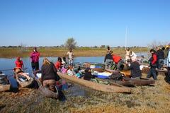 Okavango Delta Stock Photo