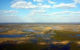 Okavango Dreieck Lizenzfreie Stockbilder