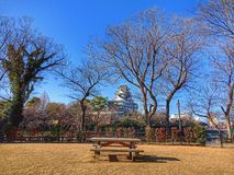 Okayama castale Japonia zdjęcie royalty free