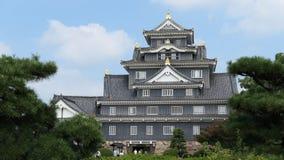 Okayama castle. Royalty Free Stock Image
