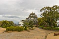 Okayama castle main keep, Japan Royalty Free Stock Photo