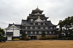 Okayama Castle. (nicknamed Ujyo) in Japan Royalty Free Stock Images
