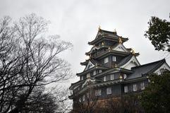 Okayama Castle. (nicknamed Ujyo) in Japan Stock Image