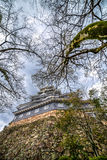 Okayama Castle, a view from bottom Stock Photography
