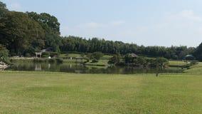 Okayama korakuen il giardino Fotografia Stock