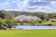 Okayama-Schloss lizenzfreie stockfotos