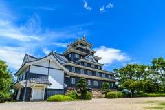 Okayama-Schloss oder Krähen-Schloss Stockfotos