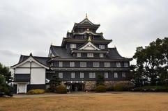 Okayama slott Royaltyfria Bilder