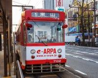 Okayama Street Car Royalty Free Stock Images