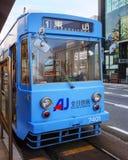 Okayama Street Car Royalty Free Stock Image