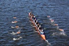 Okc RiverSport springer i huvudet av Charles Royaltyfri Fotografi