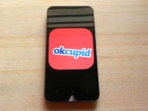 OkCupid στοκ εικόνες