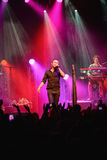Okean Elzy concert in Helsinki in front a crowd Stock Images