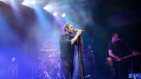 Okean Elzy concert Royalty Free Stock Photo