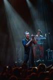 Okean Elzy performance in Helsinki Royalty Free Stock Photos