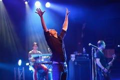 Okean Elzy performance in Helsinki Stock Photo