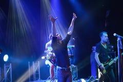 Okean Elzy performance in Helsinki Royalty Free Stock Images