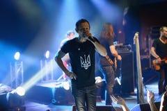 Okean Elzy performance in Helsinki Stock Images