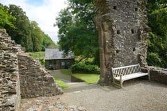Okehampton Castle Cornwall UK Royalty Free Stock Photography