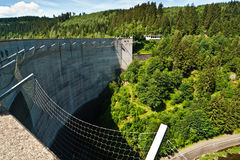 The Oker Dam Royalty Free Stock Image