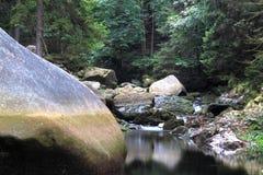 Oker del fiume fotografie stock