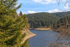 Oker dolinny Harz Niemcy Zdjęcia Stock