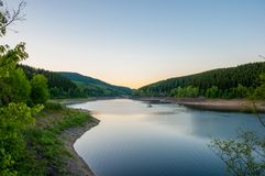 Oker Reservoir in Germany. Oker Reservoir in the Harz mountains in Germany royalty free stock photography