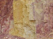 Okerkuilen in de West-Macdonnell Ranges royalty-vrije stock fotografie