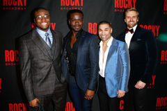 Okieriete Onaodowan, Bradley Gibson, Sam J Cahn, Adam Perry Photos stock