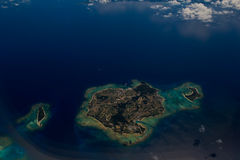 Okinawa,aerial view Royalty Free Stock Photos